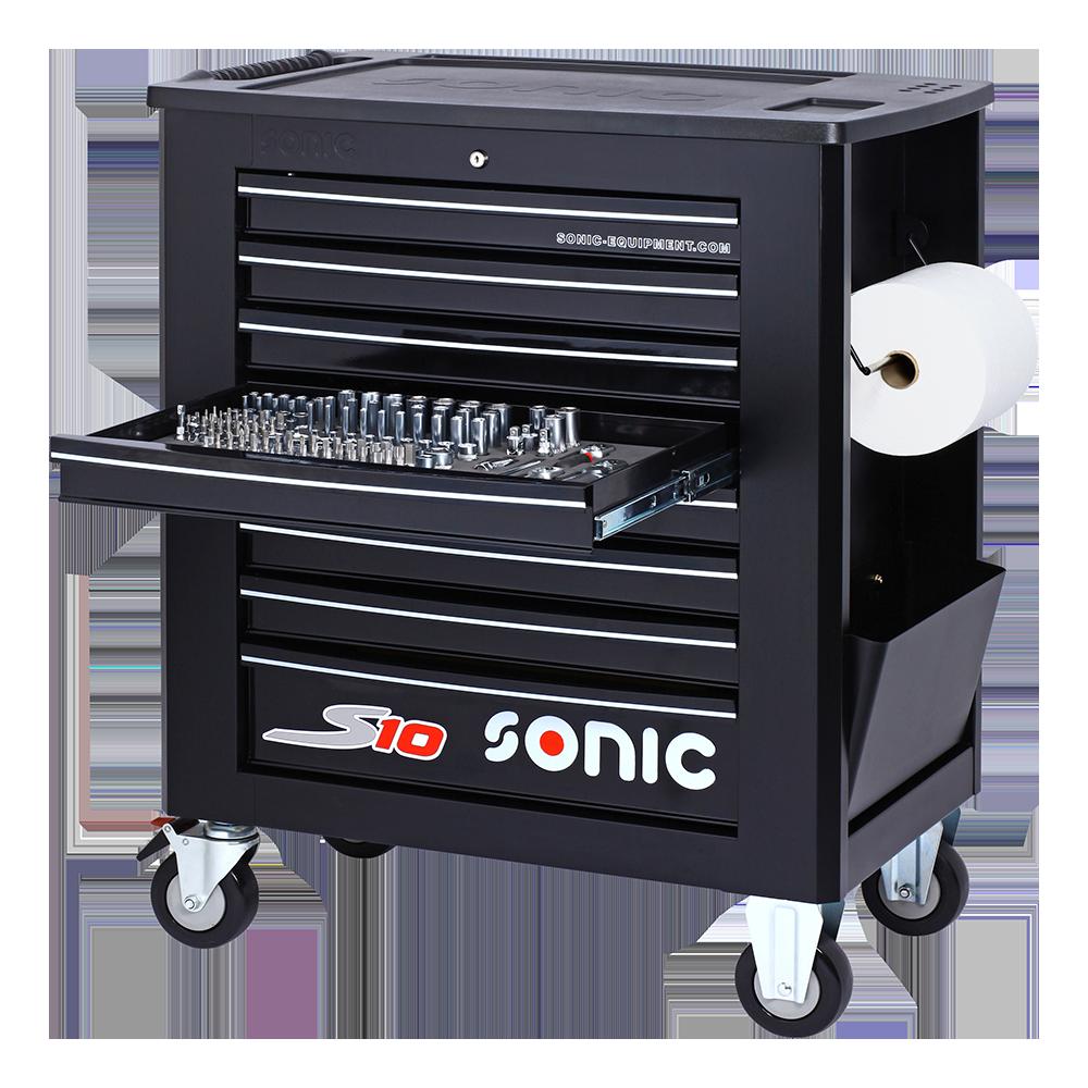 Werkstattwagen Sonic S10 gefüllt