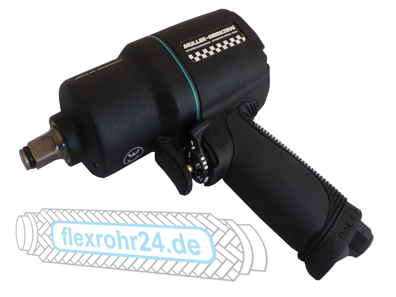 """SCHLAGSCHRAUBER 1/2"""" Max. 1600NM  Müller 114, Doppelhammer Schlagwerk"""