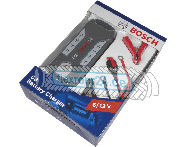 Bosch Ladegerät C3+ 6/12V
