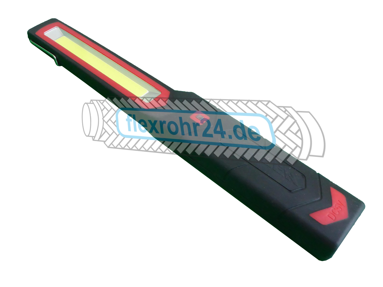 COB LED HANDLAMPE ohne AKKU, mit 3m Kabel